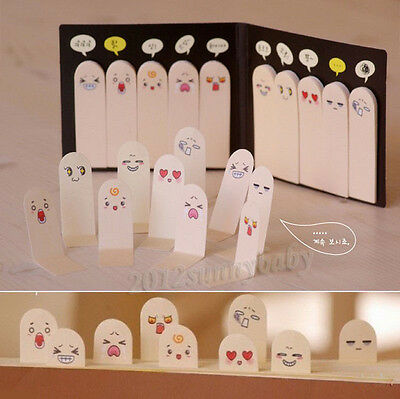 Cute Fingers Sticker Post-It Bookmark Point It Marker Memo Flags Sticky Notes