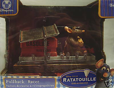 Ratatouille Pullback Racer-Let Er Rip-With Cheese And Racing-Disney-New&cool!!