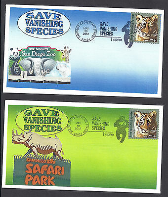 GREAT APES *SAN DIEGO ZOO & SAFARI PARK * SET OF 2 COVERS *