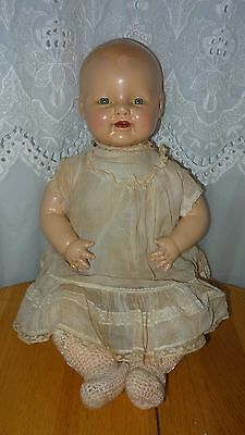 EIH EARLY HORSMAN BABY DIMPLES CHARACTER DOLL COMPOSITION CLOTH BODY ORIGINAL
