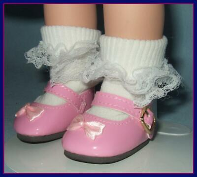 "PINK Patent Shoes for Ideal P-90 14"" Betsy McCall & TONI  U.S.SHIPS FREE"