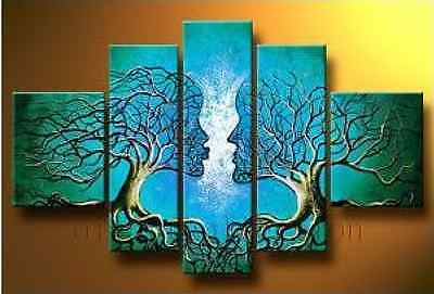 MODERN ABSTRACT HUGE CANVAS ART OIL PAINTING (no framed) P029