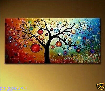 Modern Abstract Art Oil Painting on canvas: Fortune Tree(NO frame) P071