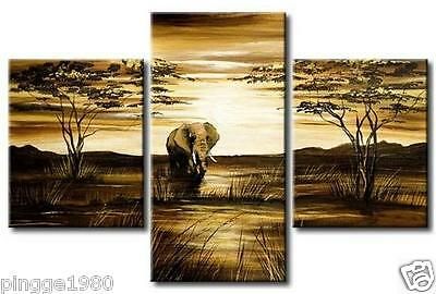 Huge Modern Oil Painting On Canvas (no framed) P038