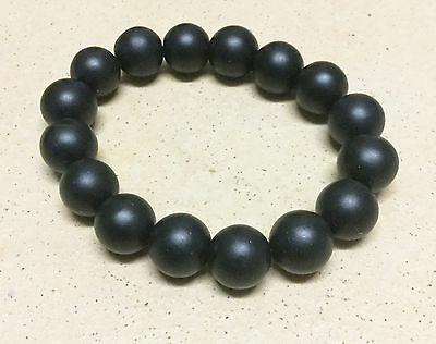 BIAN Stone 'Chi' Energy Stone 11mm round Beads power Band stretch Bracelet