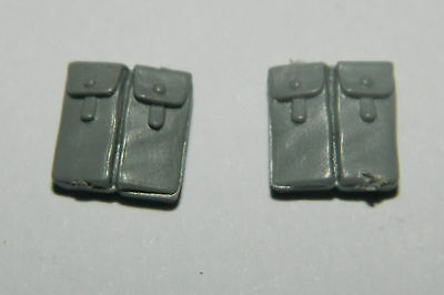 Warhammer 40K Bits Space Marine Tactical Squad Large Pouches X 2