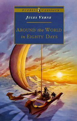Around the World in Eighty Days by Jules Verne (1995, Paperback, Abridged)