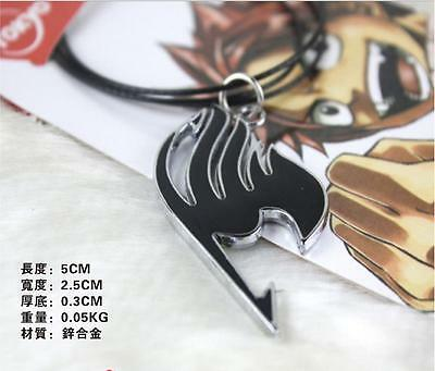 Anime FAIRY TAIL Natsu Dragneel Figure Guild Pendant Necklace Cosplay Gift Toy 3