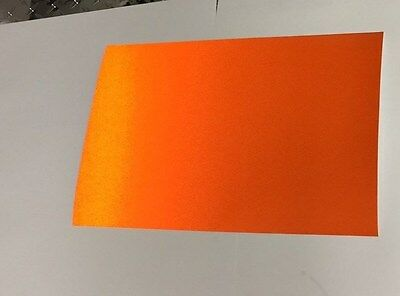 Reflective Vinyl Sheets, 8x12 and 12x12 Inch, Choose Colors, Yellow, Orange, Red