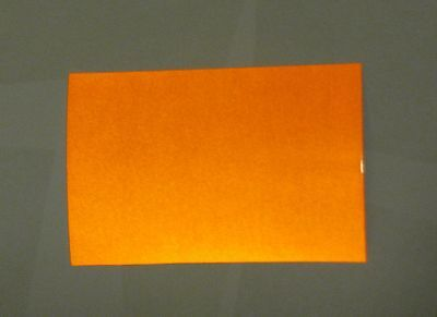 12 inch x 5 feet  Orange Reflective Sign Vinyl  w/Adhesive  High Reflectivity 3M