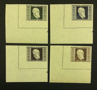 MOMEN: AUSTRIA Osterreich STAMPS RENNER SET MINT OG NH $ LOT #5560