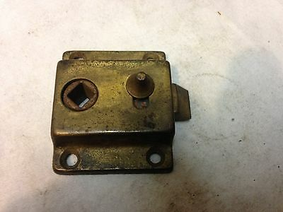 Antique Vintage Cast Iron Sargent Small Door Rim Lock Part 1