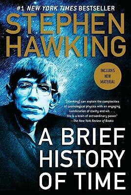 A Brief History of Time by Stephen Hawking (English) Paperback Book Free Shippin