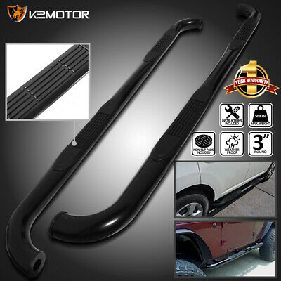09-15 Dodge Ram 1500 Crew Cab Black S/S Running Boards Side Step Nerf Bar