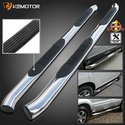 """Fit 2001-2006 Acura MDX 3"""" Side Step Nerf Bars 03-08 Pilot S/S Running Boards"""