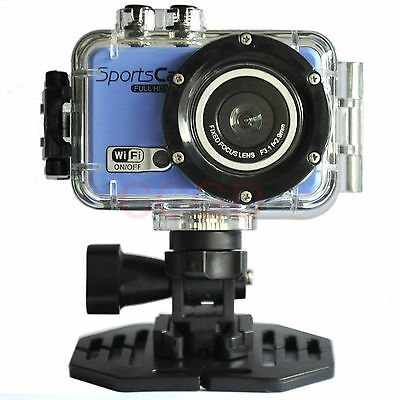F39 1080P Remote Wifi Sports DV 30M Waterproof Action Camera Cam DVR camcorder