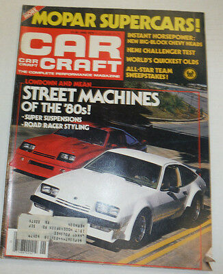 Car Craft Magazine Street Machines Mopar Supercars June 1979 122314R