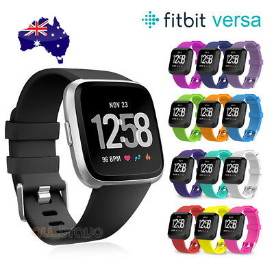 Replacement Silicone Watch Wrist Sports Band Strap Fitbit Versa List Wristband