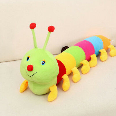 Cute Colorful Inchworm Soft Lovely Developmental Child Baby Toy Doll Caterpillar
