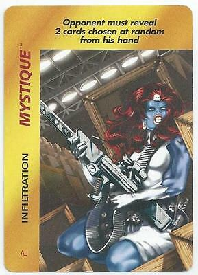 Marvel Overpower - Card - Mystique (Acle)