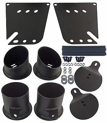 Impala Air Ride Suspension Bag Brackets Front and Rear Bolt On 1958 - 1964 Chevy
