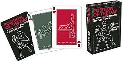 Position of the Day Expert Edition set of 52 playing cards (nm)