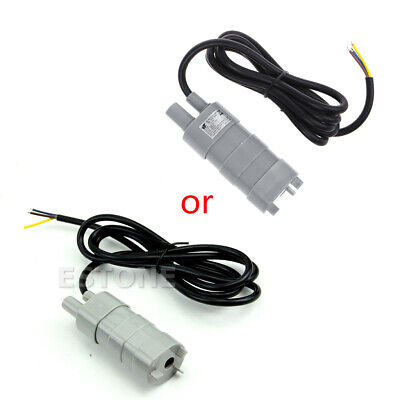 1PC 12V New DC 1.2A Micro Submersible Motor Water Pump 5M 14L/Min 840L/H 6-15V