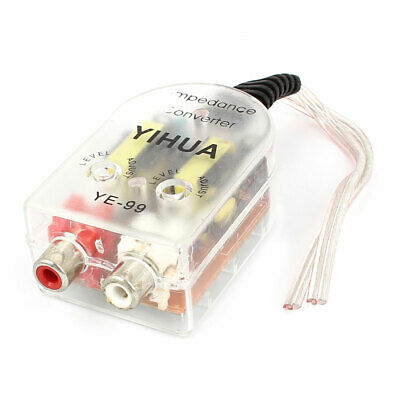 Auto Line Out 2 RCA Input High to Low Audio Impedance Converter