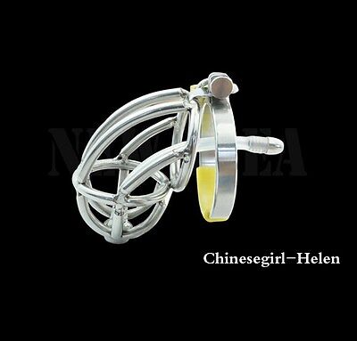 Stainless Steel Male Chastity device  A143
