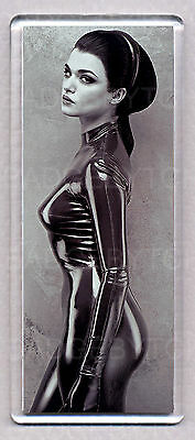 RACHEL WEISZ in LATEX CATSUIT - WIDE FRIDGE MAGNET - HOT!