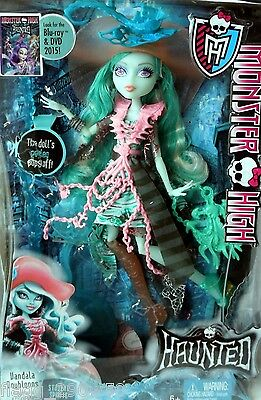 *Monster High* HAUNTED STUDENT SPIRITS VANDALA DOUBLOONS DOLL SET- In Hand!!