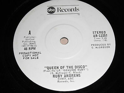 Ruby Andrews: Queen Of The Disco 45 - Soul