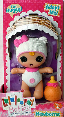 *Lalaloopsy Babies* IM HUGGY NEWBORN BABY DOLL- Just Released!!