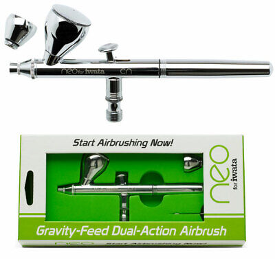 Iwata-Medea Neo Gravity Feed Dual Action Airbrush N4500 NIB