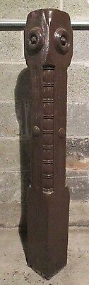 ~ Antique Walnut Newel Post ~ 47 Tall ~ Architectural Salvage ~
