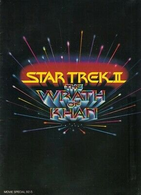 Star Trek II: The Wrath of Khan Movie Program Book, 1982 EXCELLENT CONDITION