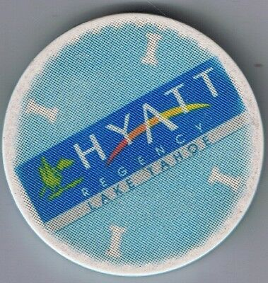 Hyatt Regency Roulette Blue I Casino Chip Incline Village N. Lake Tahoe Nv