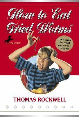 How to Eat Fried Worms by Thomas Rockwell (1953, Paperback)