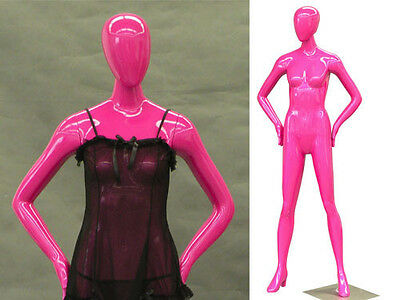 Fiberglass Female Mannequin Manequin Manikin Dress Form Display #HF51PK