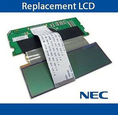 NEC DSX 40 80 120 Phone Replacement LCD Display Screen Button 22B 1090020 Refurb