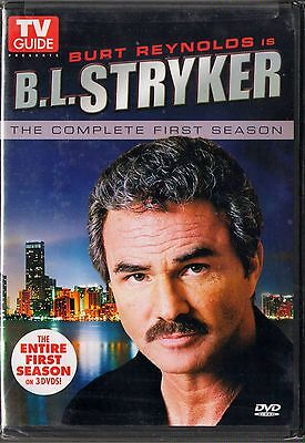 B.L. Stryker (DVD, 2008, 3-Disc Set, 3-DVDs) Complete 1st Season  Burt Reynolds