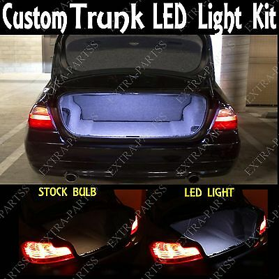 WHITE LED TRUNK CARGO LIGHT BULB 12 SMD PANEL XENON HID INTERIOR LAMP FOR SAAB
