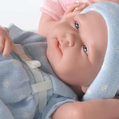 Berenguer La Newborn ** Real Boy Baby Doll **  Made in Spain 18536