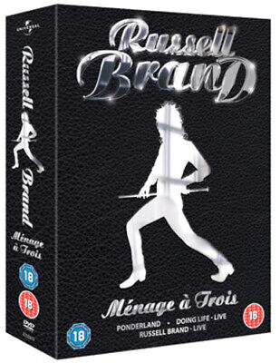 Russell Brand: Menage a Trois DVD (2008) Russell Brand