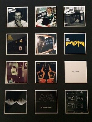 """Arctic Monkeys 14"""" By 11"""" Lp Discography Covers Picture Mounted Ready To Frame"""