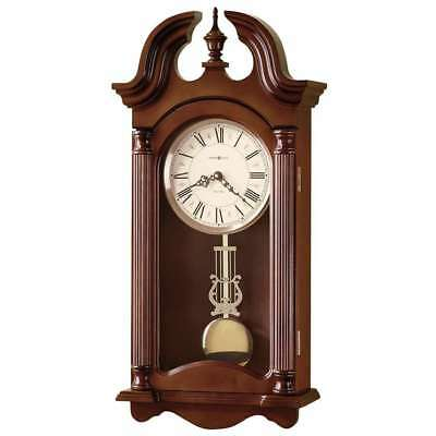 Howard Miller Everett Wall Clock, Windsor Cherry - 625253