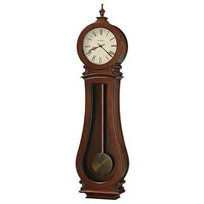 Howard Miller Arendal Wall II Wall Clock, Cherry Bordeaux - 625551