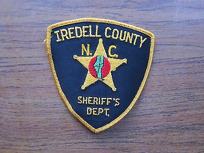 obsolete Iredell County NC Sheriff Dept North Carolina