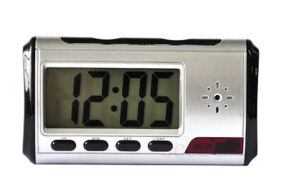 Spy Alarm Clock Security Hidden DVR Digital Camera Motion Detector Mini DV 812