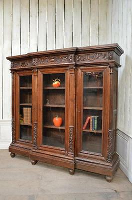Wonderful French Bookcase, Oak, Plenty Book Storage, Vintage Treasure European